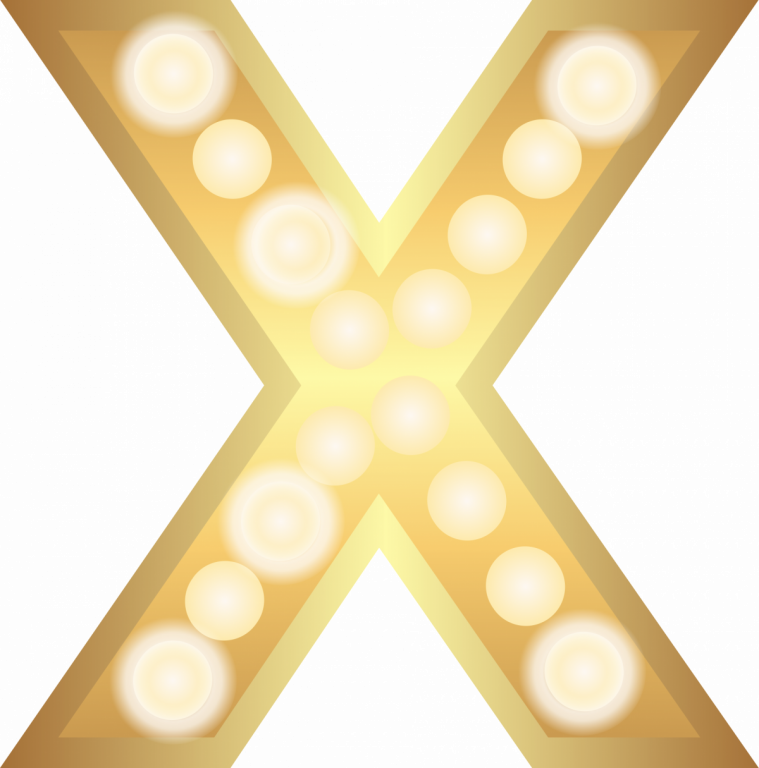 Activator X - Image of the letter X in bright gold