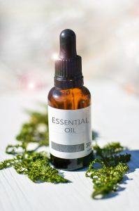 Image of bottle of essential oil
