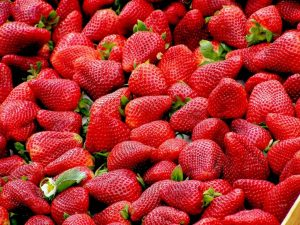 Antioxidants - Image of fresh strawberries