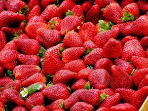 Antioxidants - Image of fresh strawberries