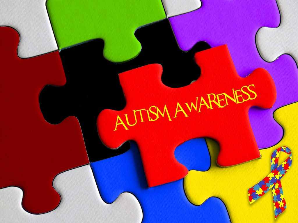 Autism - Image of puzzle pieces