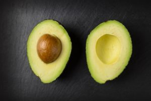Avocados - Image of Avocado Halves with Seed