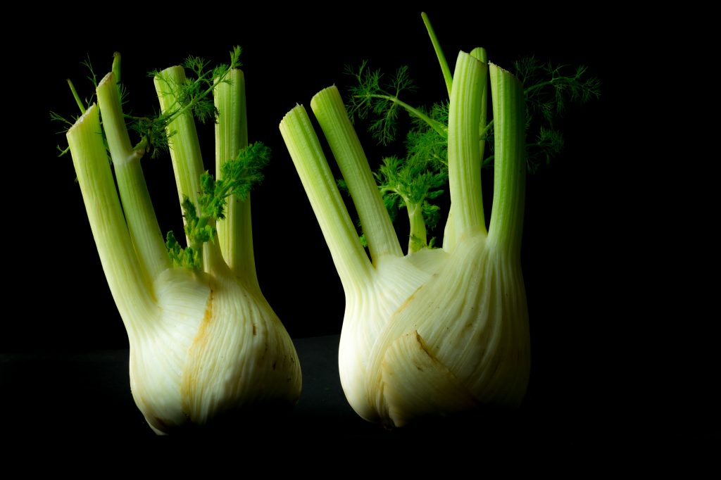 Belching - Image of Fennel bulbs because fennel may help
