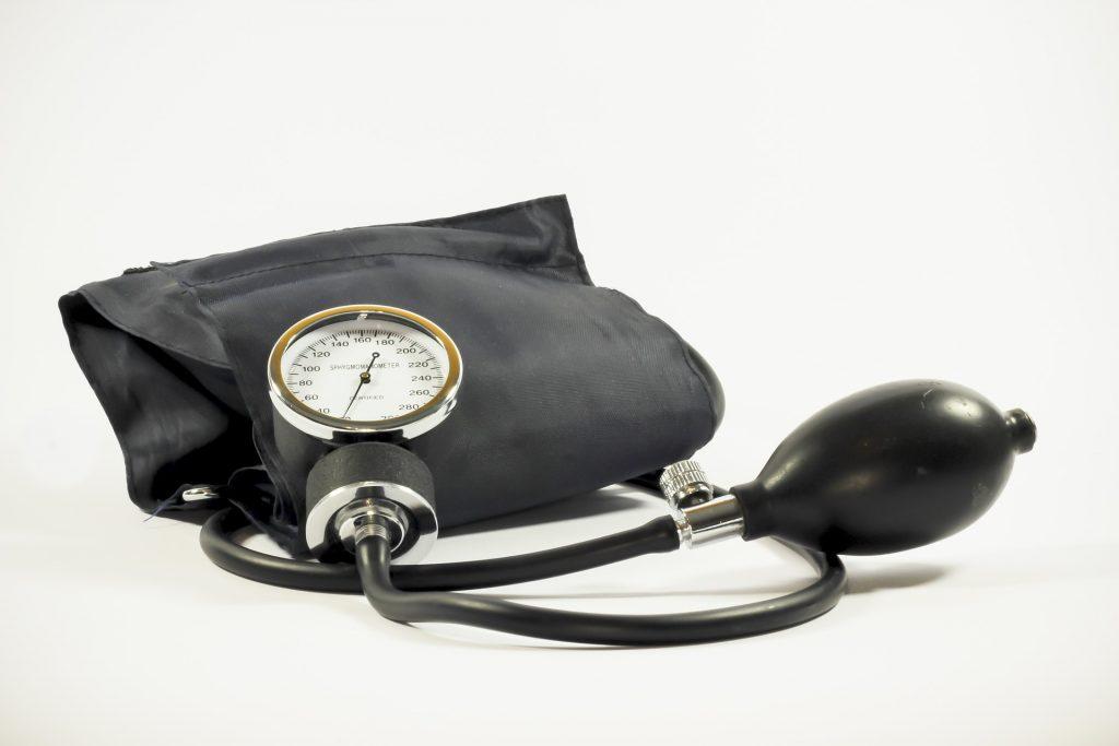 Image of a blood pressure cuff