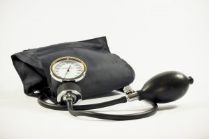 Image of a blood pressure cuff