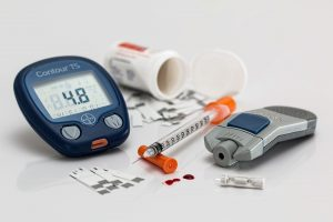 Diabetes blood sugar testing equipment