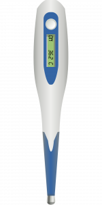 Image of a basal thermometer